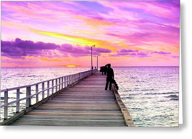 Seaforth Silhouettes Greeting Card