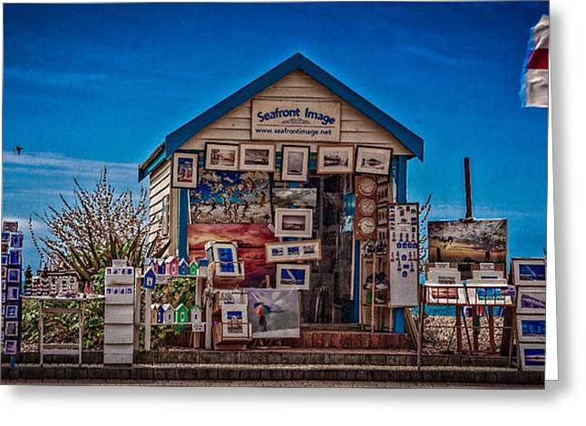 Seafront Images Greeting Card by Chris Lord