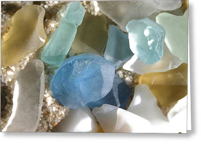 Seaglass Greeting Card