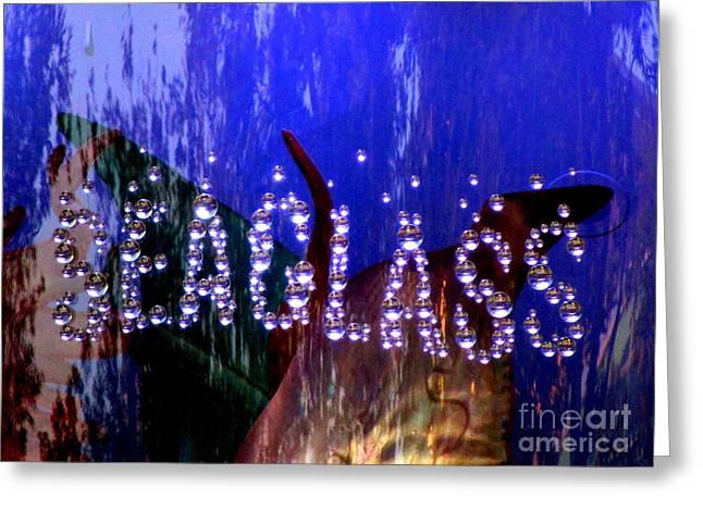 Seaglass Greeting Card