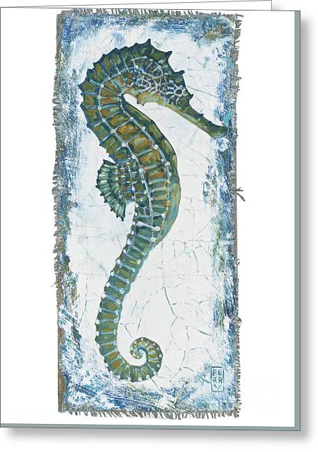 Seahorse Greeting Card by Danielle Perry