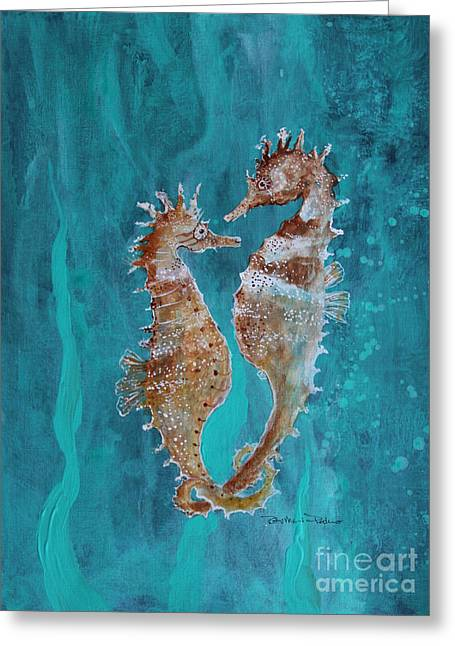 Seahorse Friends Greeting Card