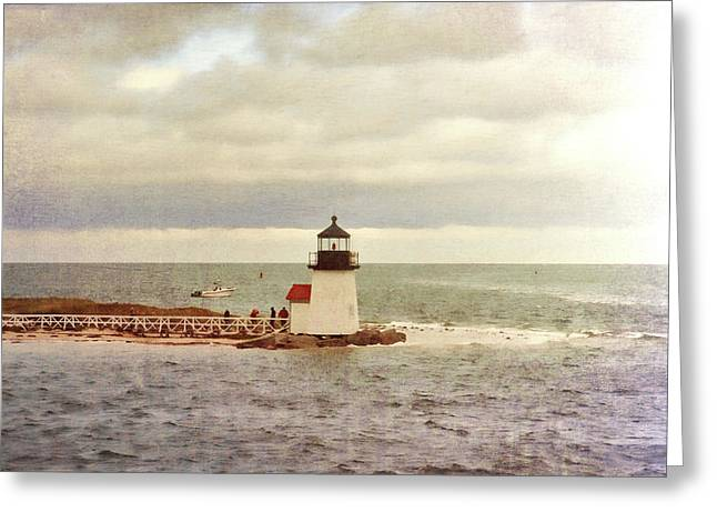 Seamans Light Greeting Card by JAMART Photography