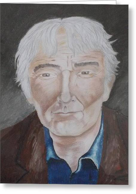 Seamus Heaney Greeting Card
