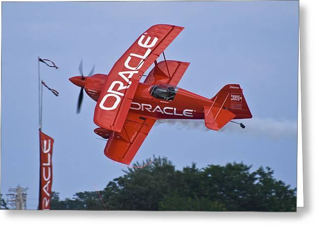 Sean Tucker - Team Oracle Greeting Card