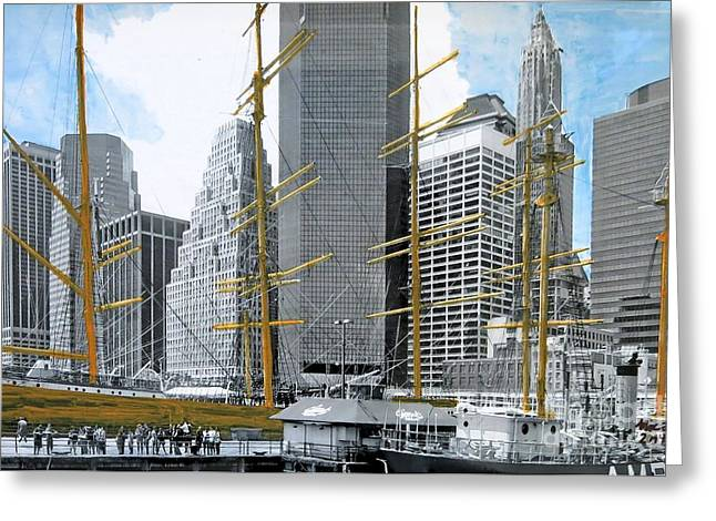 Seaport South Greeting Card