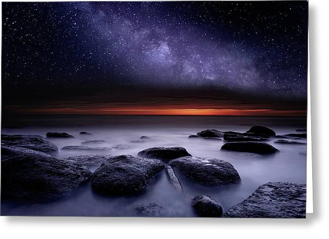Greeting Card featuring the photograph Search Of Meaning by Jorge Maia
