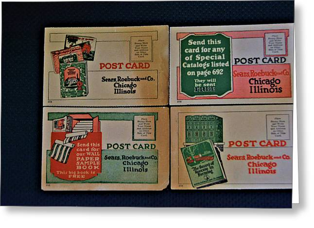 Sears Antiques Greeting Card