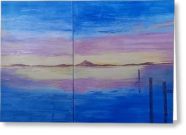 Seascape 7 Greeting Card