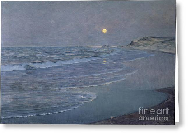 Seascape Greeting Card by Alexander Harrison
