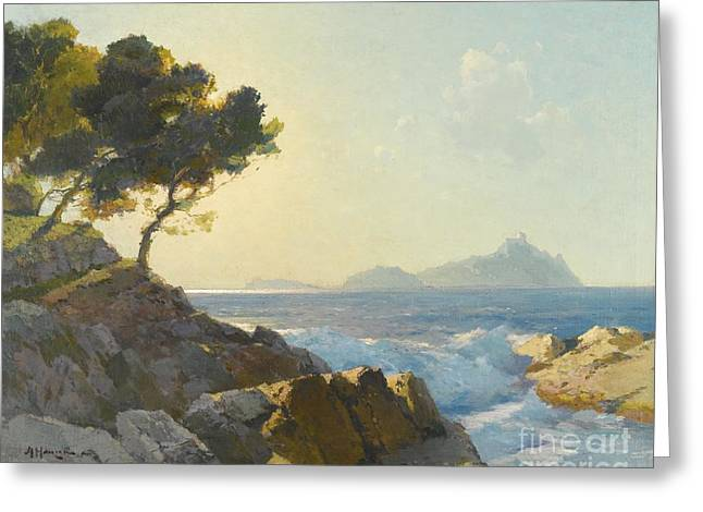 Seascape Greeting Card by Celestial Images