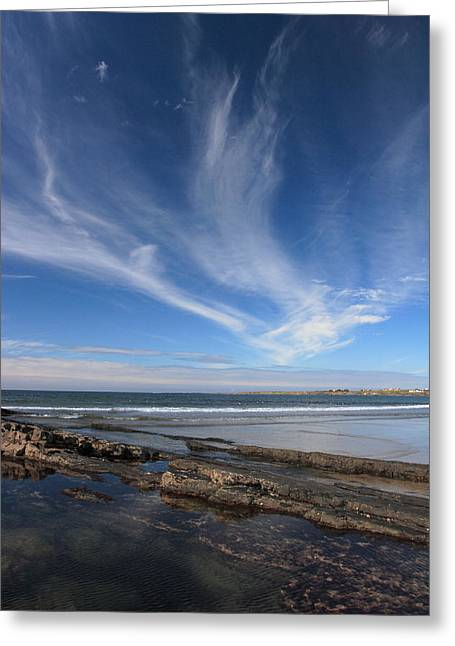 Seascape Ireland Greeting Card by Pierre Leclerc Photography