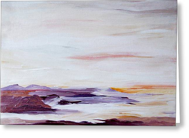 Seascape Nr 2 Greeting Card by Carola Ann-Margret Forsberg