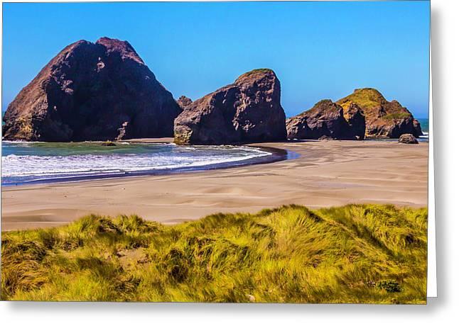 Seascape Oregon Coast Greeting Card