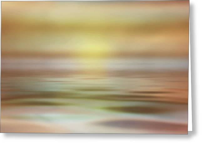 Seascape Greeting Card by Tom Mc Nemar