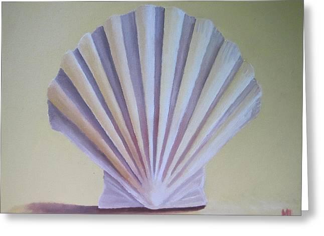Seashell II Greeting Card by Michael Holmes