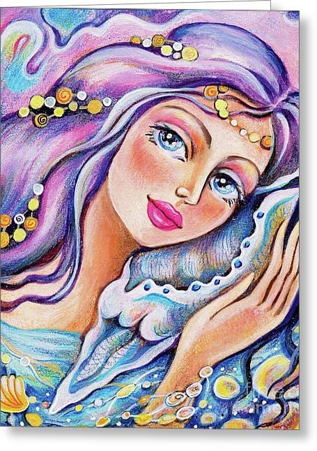 Seashell Reverie Greeting Card