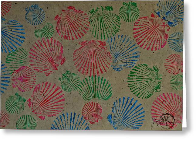 Seashells By The Seashore Greeting Card