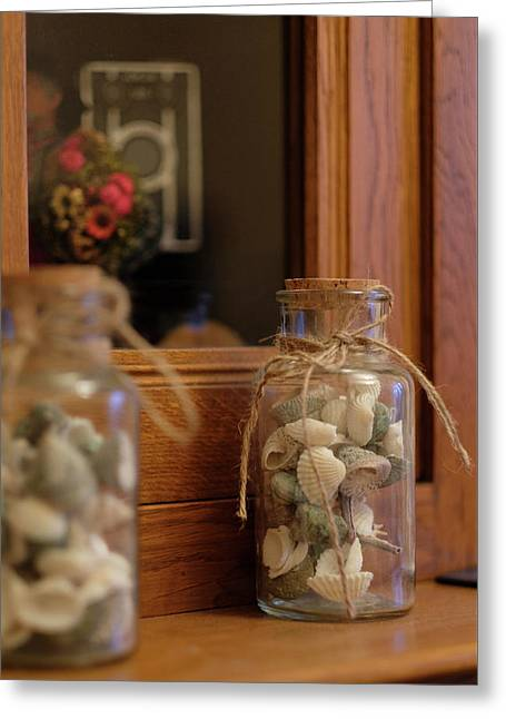 Greeting Card featuring the photograph Seashells by Jeremy Lavender Photography