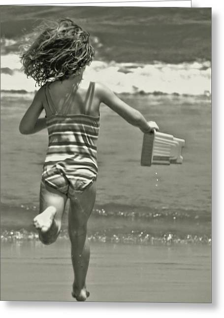 Seaside Excitement Greeting Card by JAMART Photography