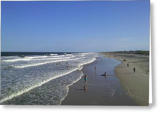 Seaside Heights Photographs Greeting Cards - Seaside Heights 051 Greeting Card by Daniel Henning