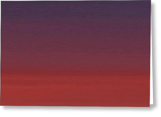 Seaside Heights Nj Sunset Greeting Card by Nash Hale