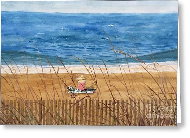 Seaside In Massachusetts Greeting Card