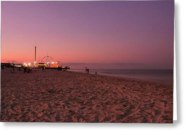 Seaside Park I - Jersey Shore Greeting Card