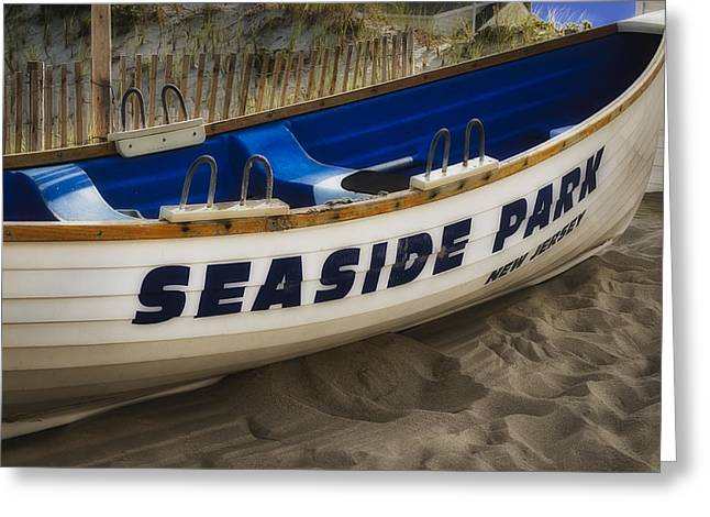 Seaside Park New Jersey Greeting Card by Susan Candelario
