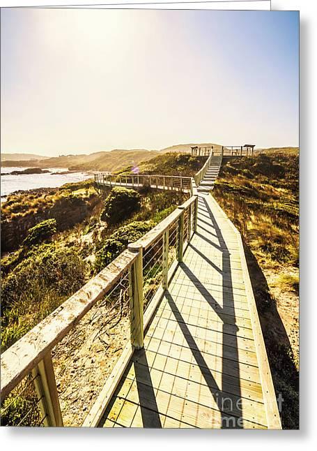 Seaside Perspective Greeting Card