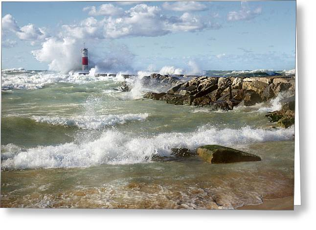 Seaside Splash Greeting Card