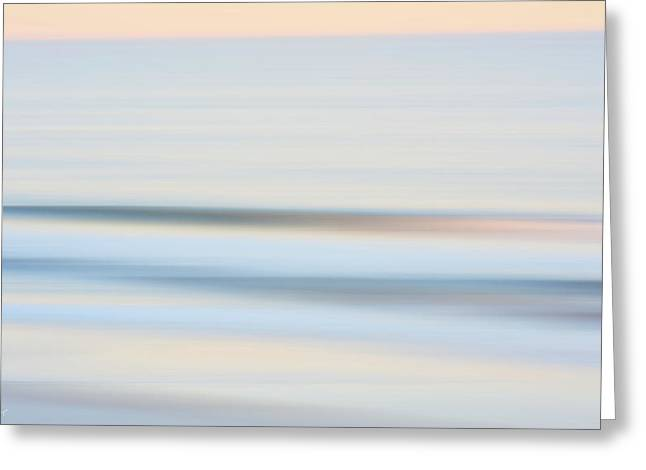 Seaside Waves  Greeting Card by Glenn Gemmell