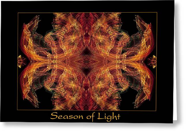 Greeting Card featuring the photograph Season Of Light 2 by Bell And Todd