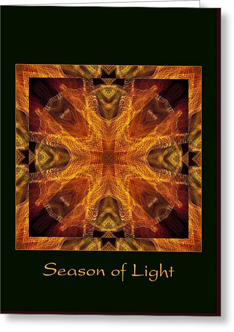 Greeting Card featuring the photograph Season Of Light 4 by Bell And Todd