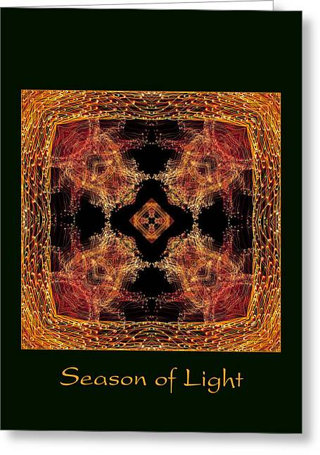 Greeting Card featuring the photograph Season Of Light 7 by Bell And Todd