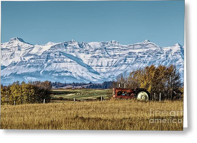 Greeting Card featuring the photograph Season's End by Brad Allen Fine Art