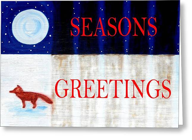 Seasons Greetings 13 Greeting Card by Patrick J Murphy