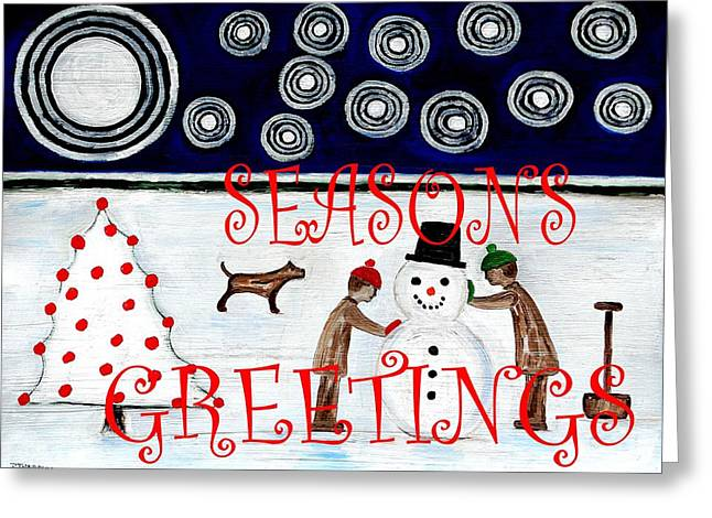 Seasons Greetings 14 Greeting Card by Patrick J Murphy