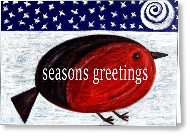 Seasons Greetings 4 Greeting Card by Patrick J Murphy