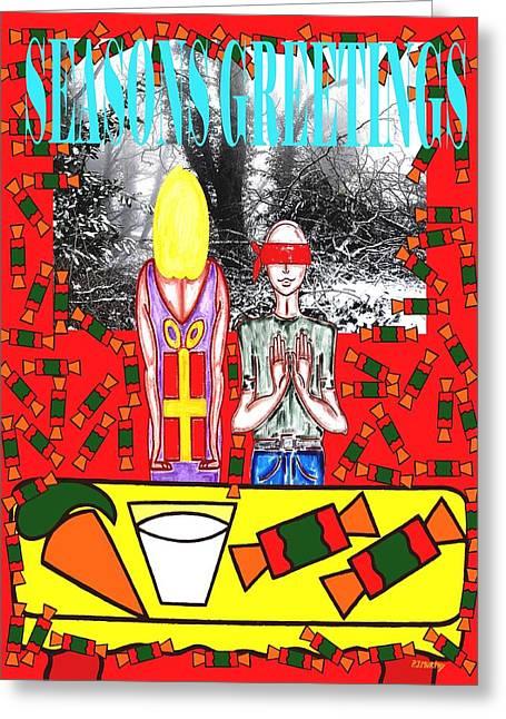 Seasons Greetings 61 Greeting Card by Patrick J Murphy