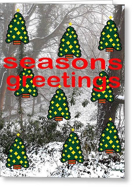 Seasons Greetings 8 Greeting Card by Patrick J Murphy