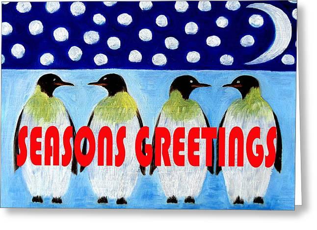 Seasons Greetings 9 Greeting Card by Patrick J Murphy