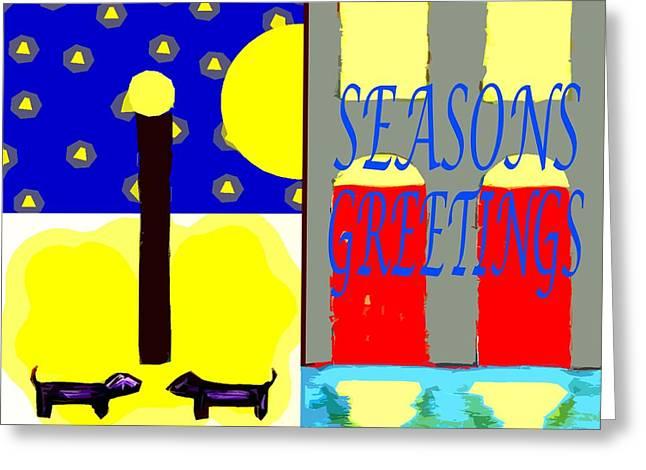 Seasons Greetings 92 Greeting Card by Patrick J Murphy