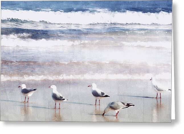 Seaspray Greeting Card by Holly Kempe
