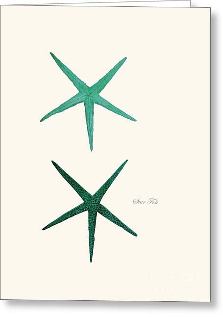 Seastar Greeting Card
