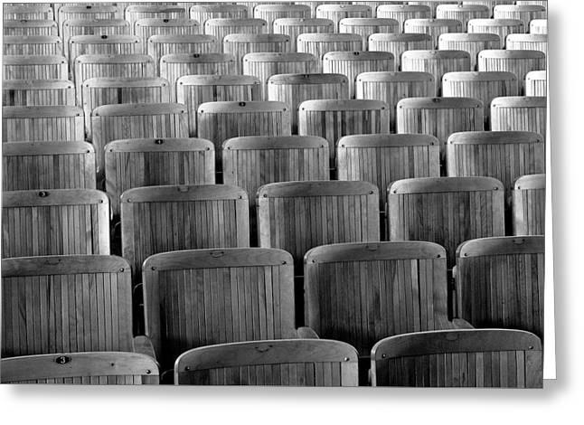 Seat Backs Greeting Card by Todd Klassy