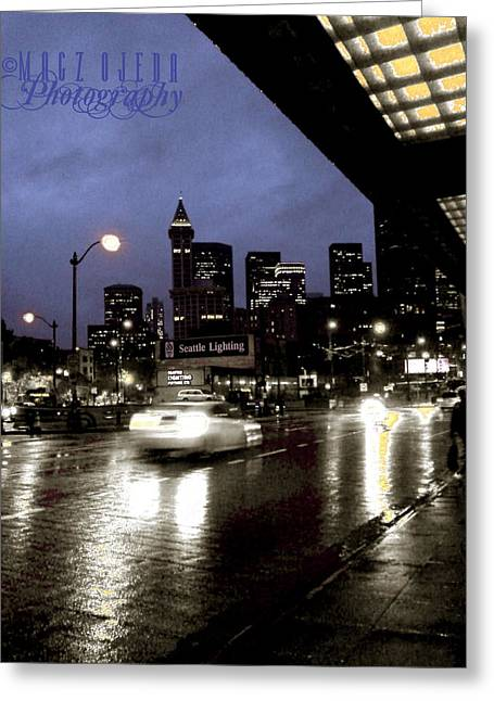 Seattle 5th And Jackson Greeting Card