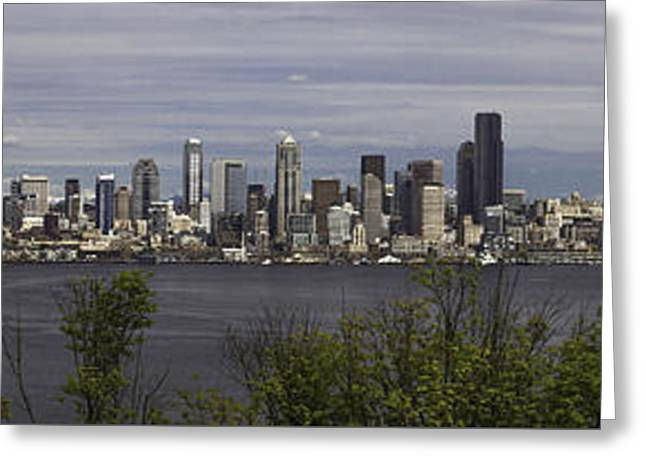 Seattle At Its Best Greeting Card
