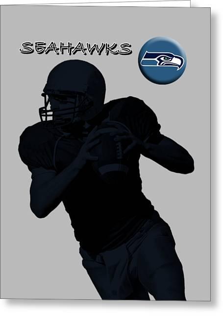 Seattle Seahawks Football Greeting Card