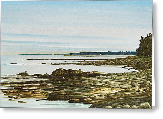 Seawall Mt. Desert Island Greeting Card